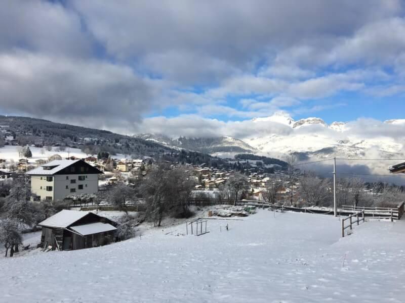 Actualité l&l promotion - La neige est tombée sur les terrains
