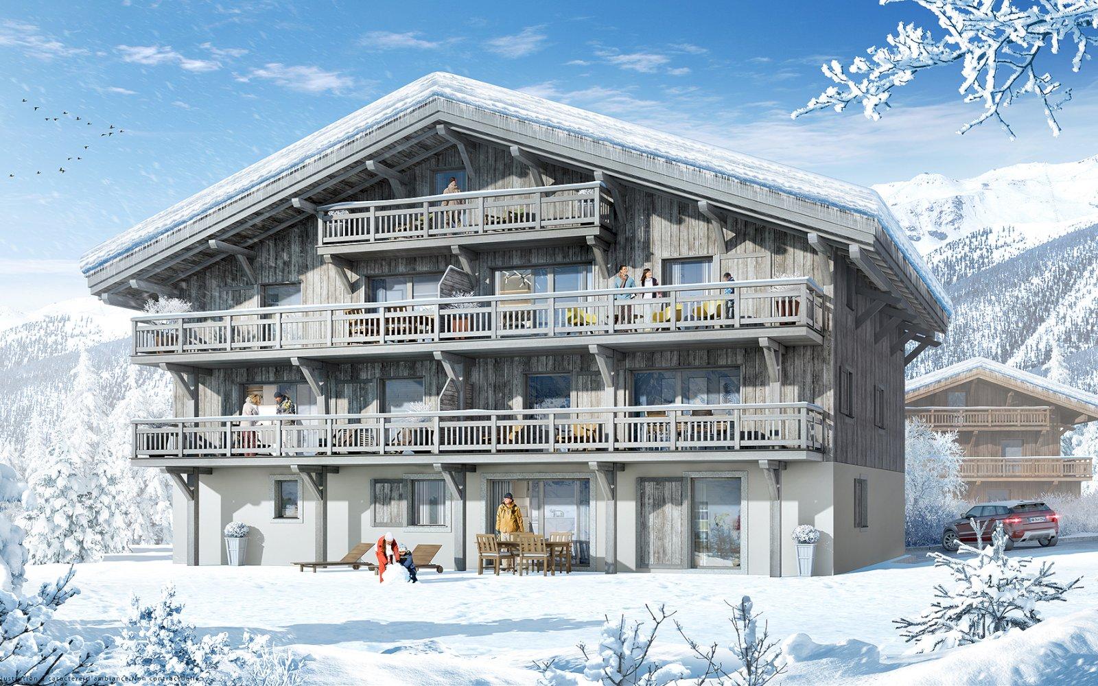 Le Chalet de La Cour des Alpes