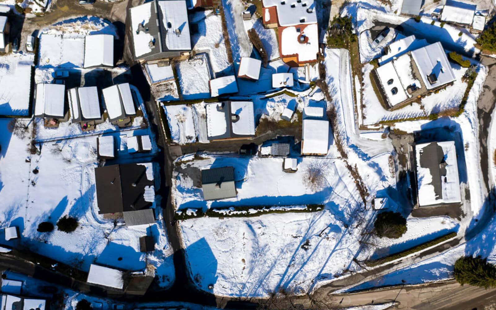 Vue du quartier du Cristal des Alpes